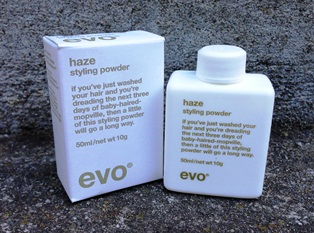 Evo hair styling powder