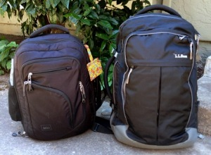 The REI Overnighter is smaller than a regulation size carry on bag.