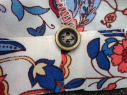 Your spare buttons are always available if you sew them to the hem of your garments.