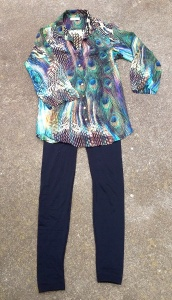 A tunic makes a great sleep shirt or swim cover up