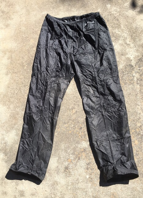 gear review montbell versalite rain pants lady light travel On travel rain pants