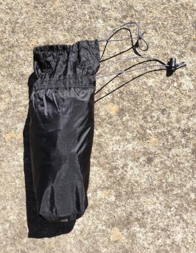 Versalite rain pants stuff sack