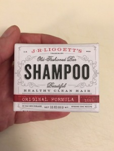 Soilid shampoo bar