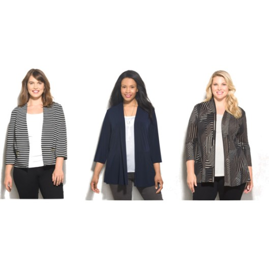 Unlined jackets pack easily for travel